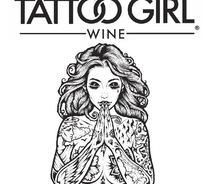 Tattoo Girl Wine
