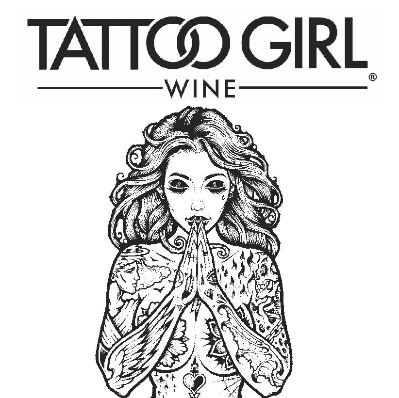 Tattoo Girl Wine